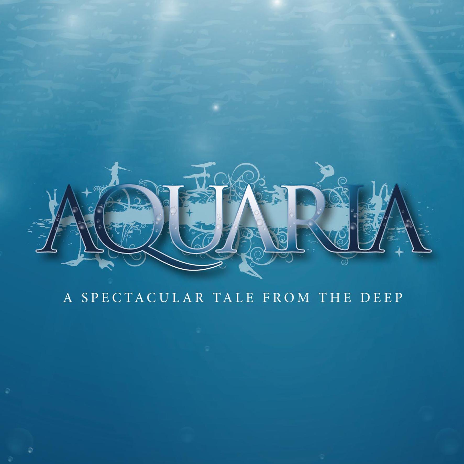 aquaria branded poster
