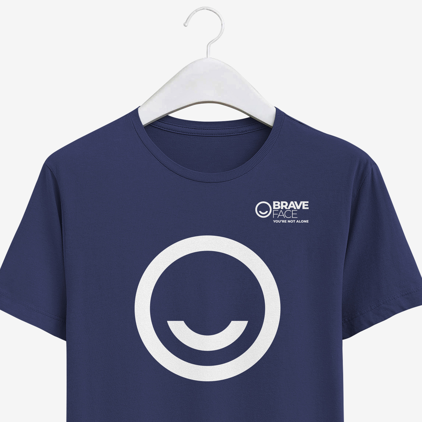 braveface branded t-shirt