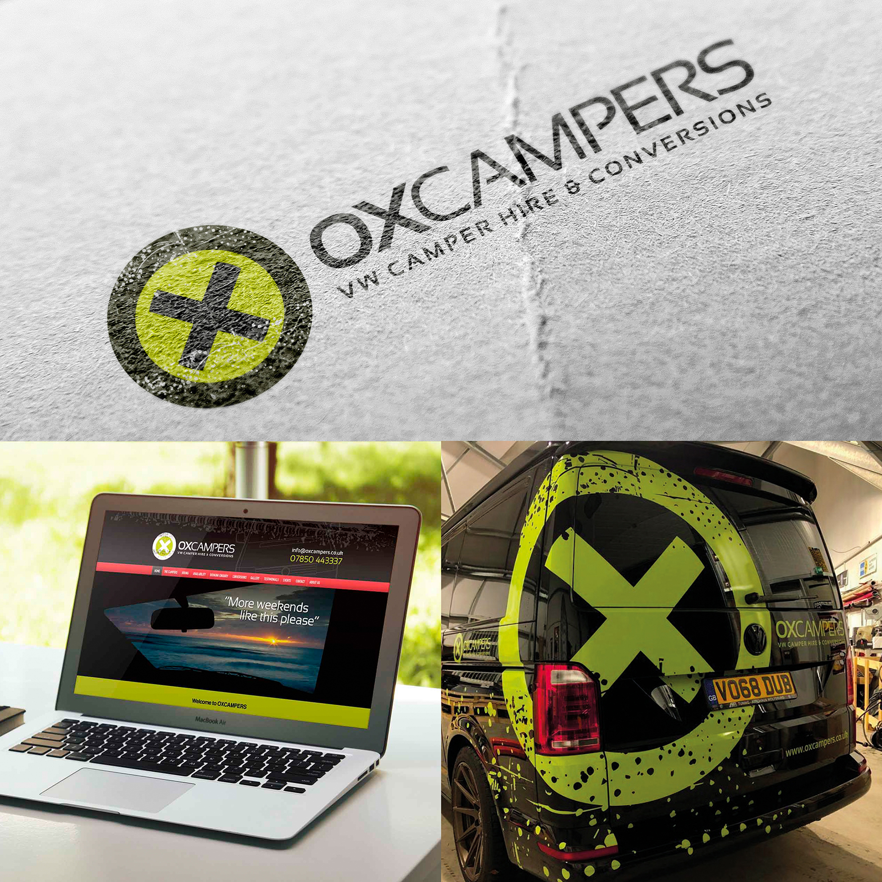 oxcampers rebranding applications