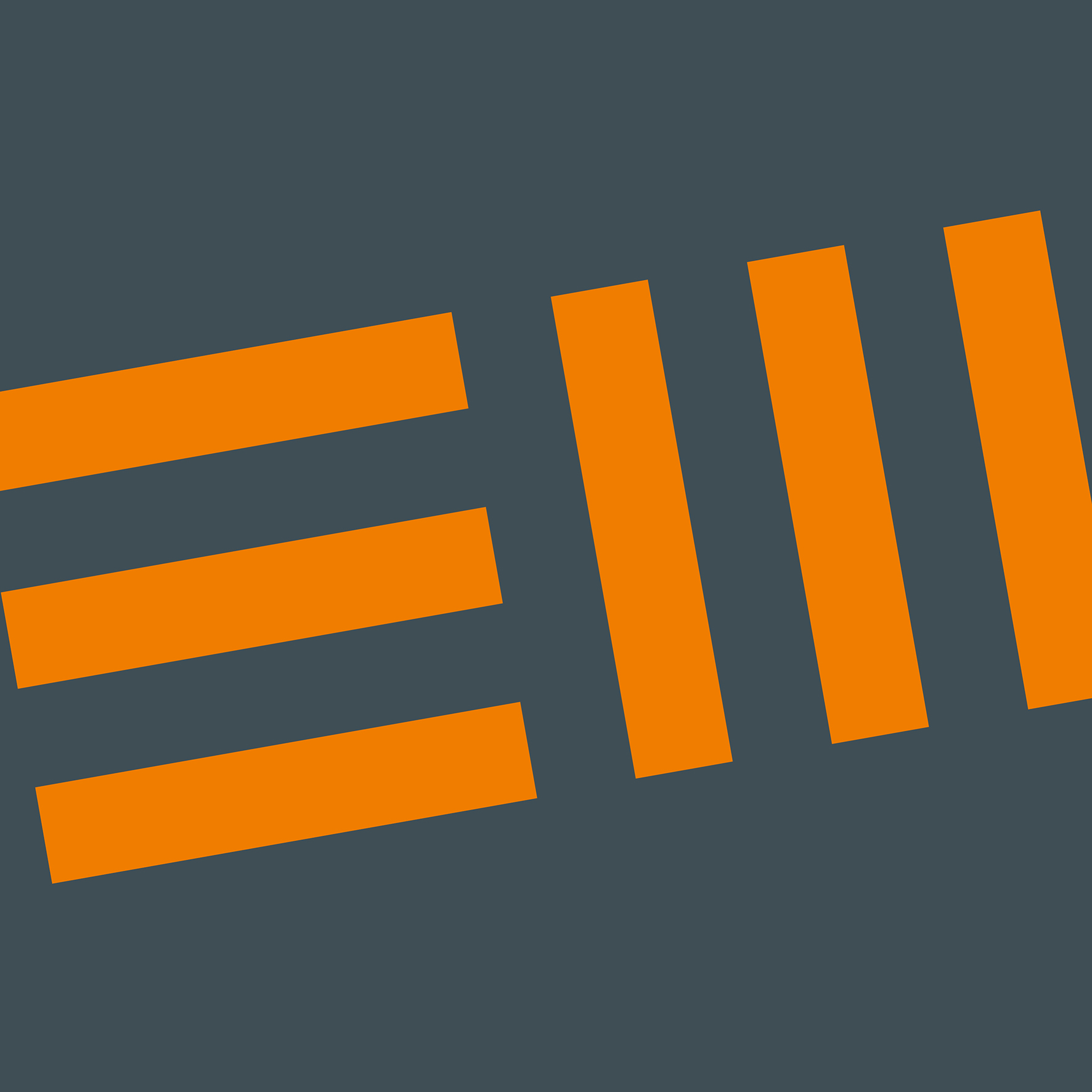 em logo design closeup
